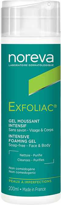 Gel moussant intensif